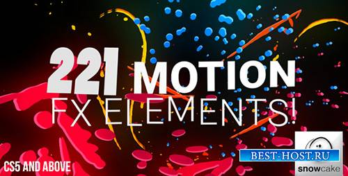 221 Motion FX Elements Pack - Project for After Effects (Videohive)
