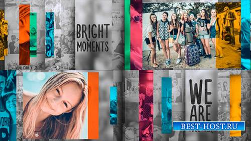 Slide Color Line - Project for After Effects (Videohive)