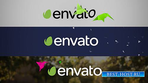 Flat Bird Quick Logo Reveal - Project for After Effects (Videohive)