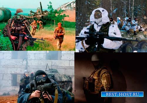 Шаблоны для фотошопа  - Солдаты спецназа