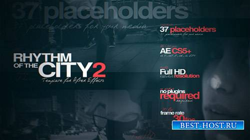 Rhythm of the City 2 - Project for After Effects (Videohive)