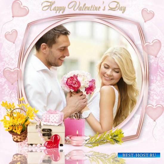 Рамка романтическая – День любви