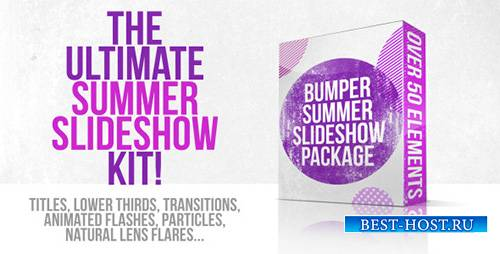 Bumper Summer Slideshow Package - Project for After Effects (Videohive)