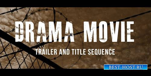 Drama Movie Trailer and Titles - Project for After Effects (Videohive)