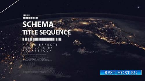 Schema - Digital Title Sequence - After Effects Template (RocketStock)
