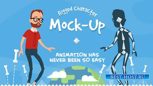 Rigmo - Rigged Character Animation Mockup - Project for After Effects (Vide ...