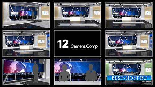 NewsStudio 100 - Project for After Effects (Videohive)