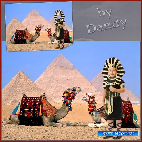 Шаблон для мальчика - Маленький фараон