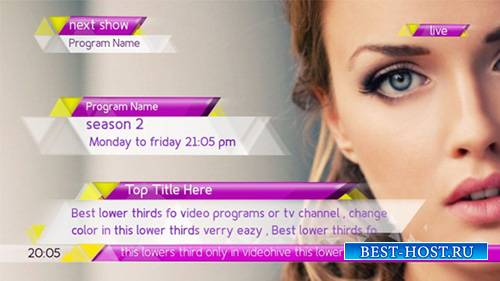 New Lower Thirds Package - Project for After Effects (Videohive)
