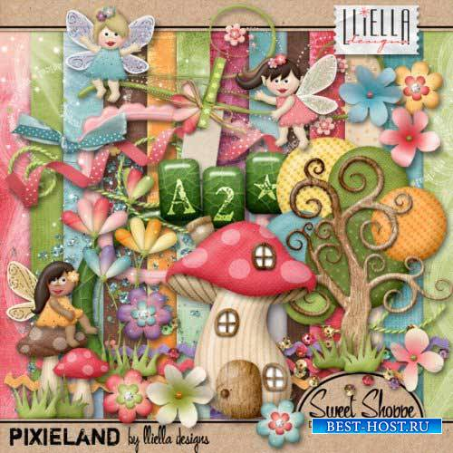 Детский скрап-набор - Pixieland