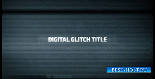 Digital Glitch Title - Project for After Effects (Videohive)