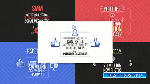 Social Media Marketing Explainer - Project for After Effects (Videohive)
