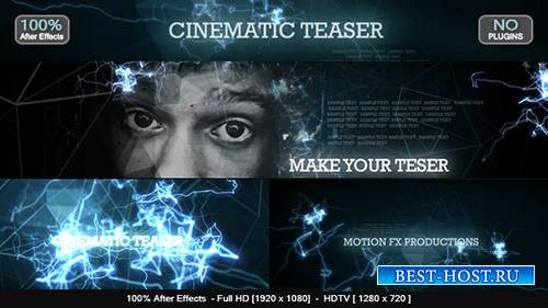Кинематографический Тизер - Project for After Effects (Videohive)