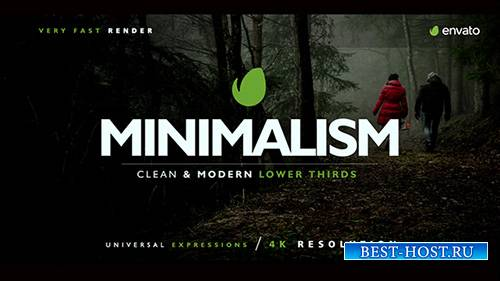 Нижней Трети - Project for After Effects (Videohive)