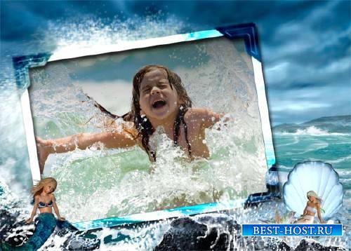 Рамка для фотографии - Морские приключения