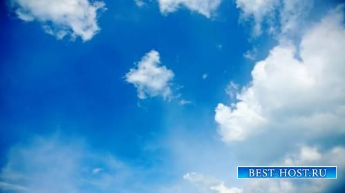 Футаж - Парящие облака