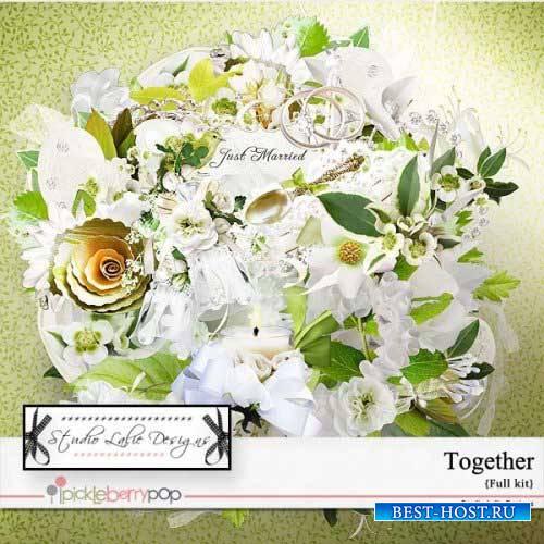 Свадебный скрап-набор - Вместе