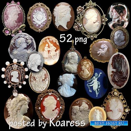 Png клипарт - Геммы и ювелирные украшения с геммами