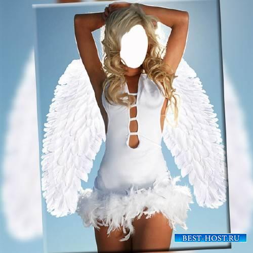 Шаблон женский - Мой ангел