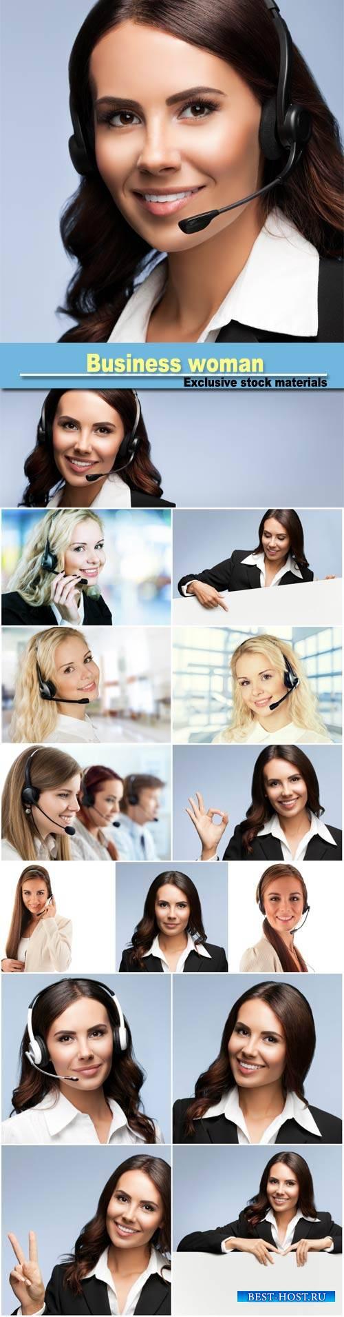 Business woman, women operators