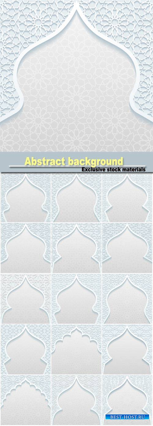 Abstract background with traditional ornament #2