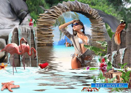 Фоторамка - Райский остров