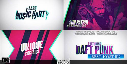 Флэш-Музыкальное Событие - Project for After Effects (Videohive)