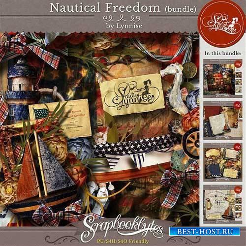 Морской скрап-набор - Nautical Freedom