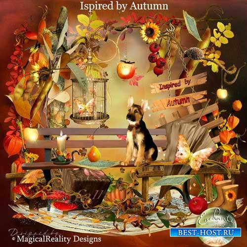 Осенний скрап-набор - Вдохновленные осенью