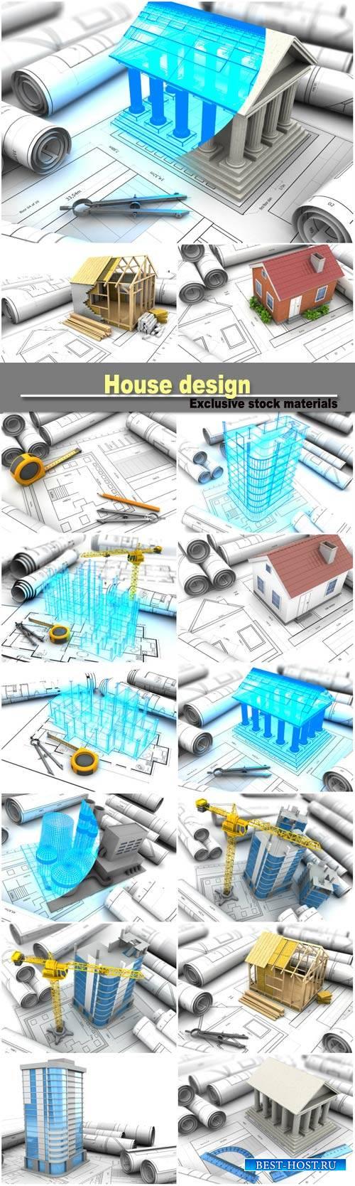 House design, building model