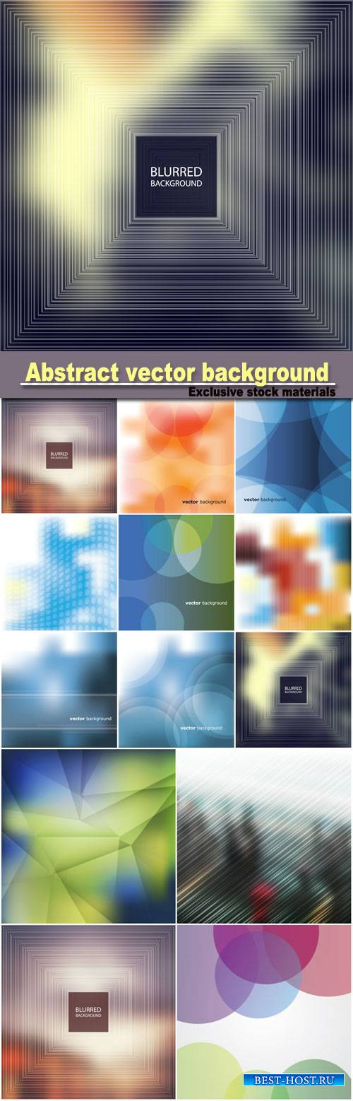 Abstract background, colored backgrounds vector