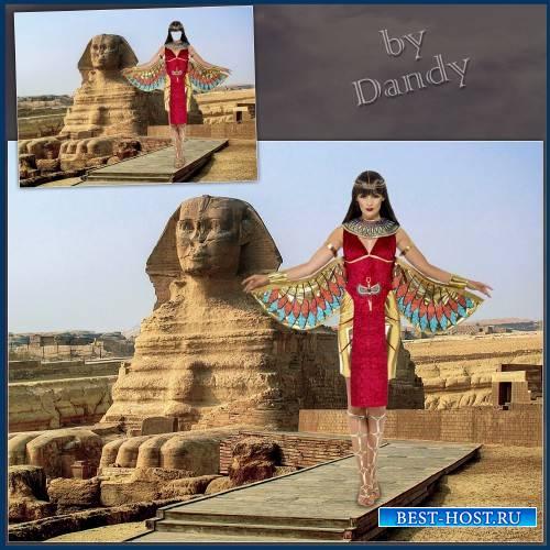 Шаблон для девушки - Египетская королева