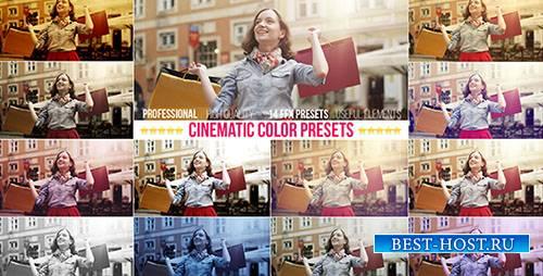 Киношный Цвет Пресетов - After Effects Presets & Project (Videohive)