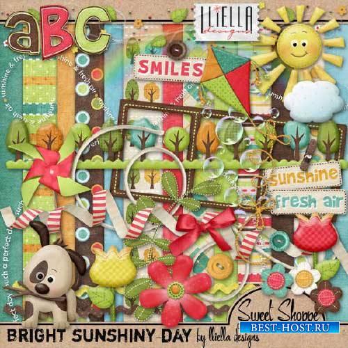 Детский скрап-комплект - Яркий солнечный день