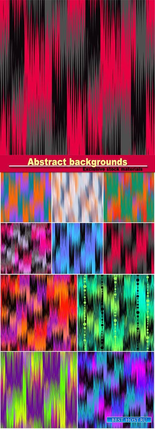 Beautiful abstract backgrounds, colorful seamless texture