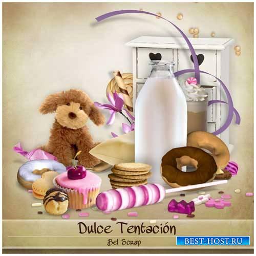 Детский скрап-набор - Dulce Tentacion