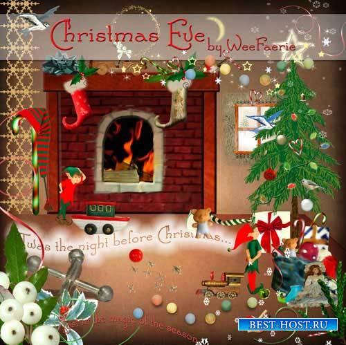 Рождественский скрап-набор - Накануне Рождества