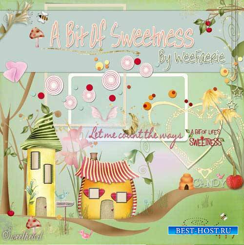 Детский скрап-набор - A Bit of Sweetness
