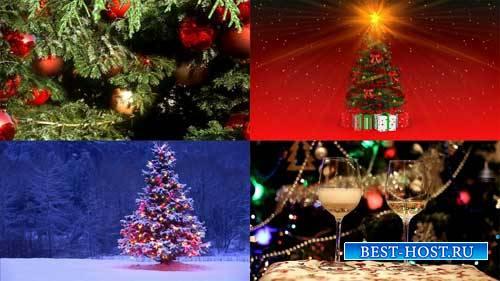 Футажи новогодние фоны - Елка-это Новый год
