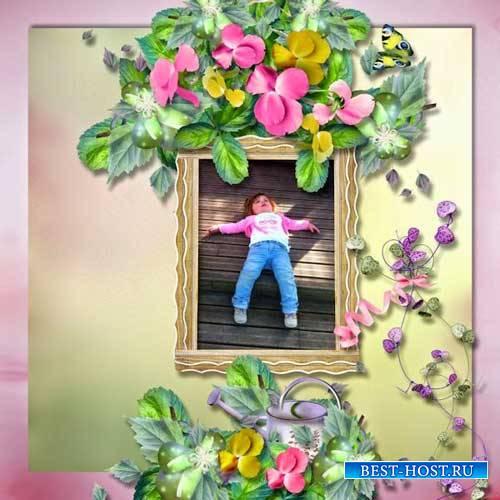 Цветочный скрап-набор - Easter For Fun