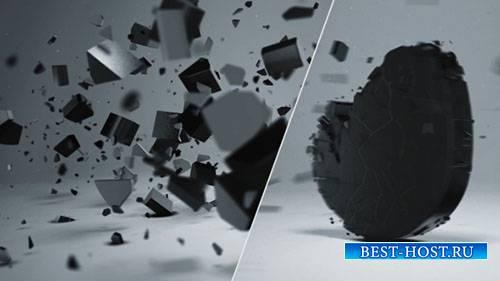 Элегантный 3D логотип разрушить - Project for After Effects (Videohive)