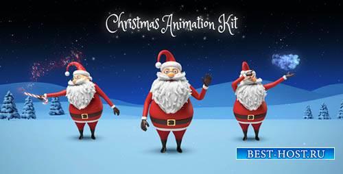 Санта - Рождественские анимации DIY комплект - Project for After Effects (V ...