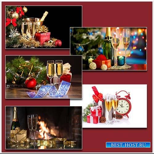 Шампанского яркий взрыв / New Year's champagne