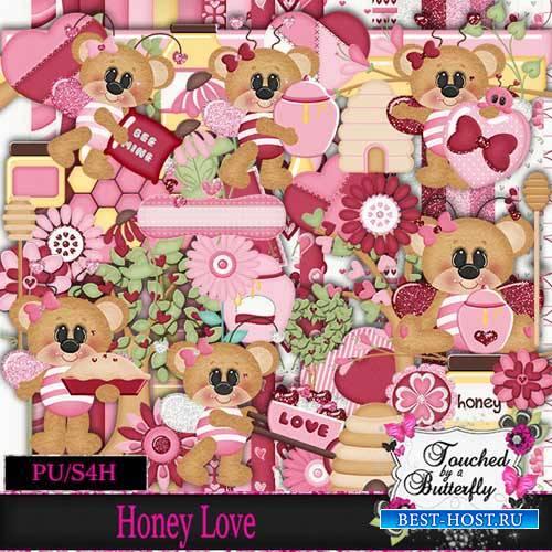 Детский скрап-набор - Honey Love