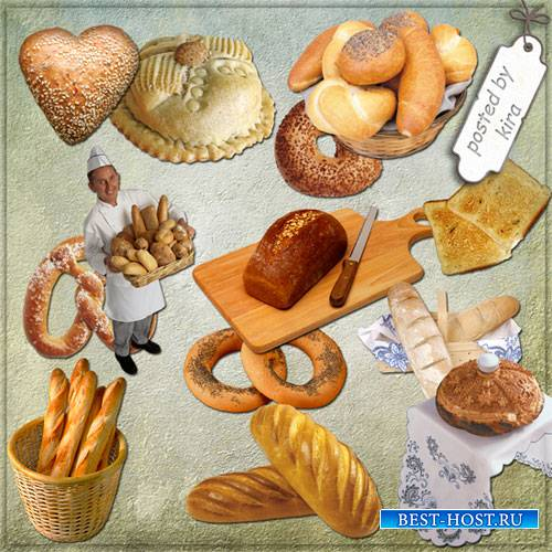 Клипарт - Хлеб