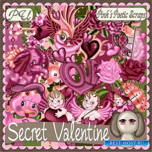 Романтический скрап-набор - Секрет Валентина