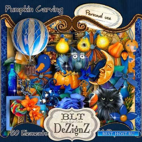 Скрап-набор - Pumpkin Carving