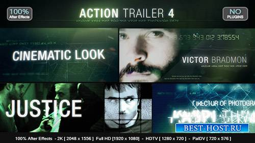 Трейлер Действия 4 - Project for After Effects (Videohive)