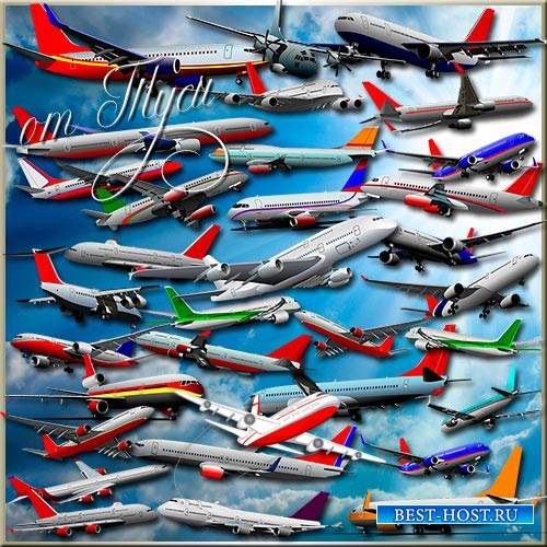 Клипарт - Самолёты