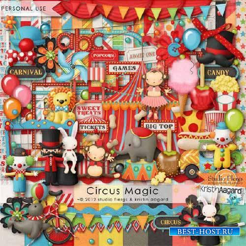 Скрап-набор - Магия цирка